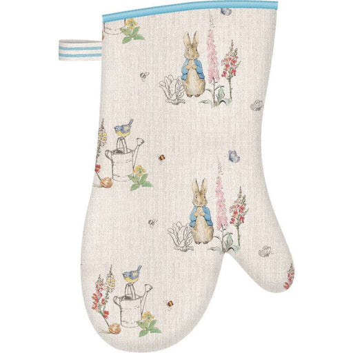 Peter Rabbit Classic 32cm Cotton Single Oven Glove