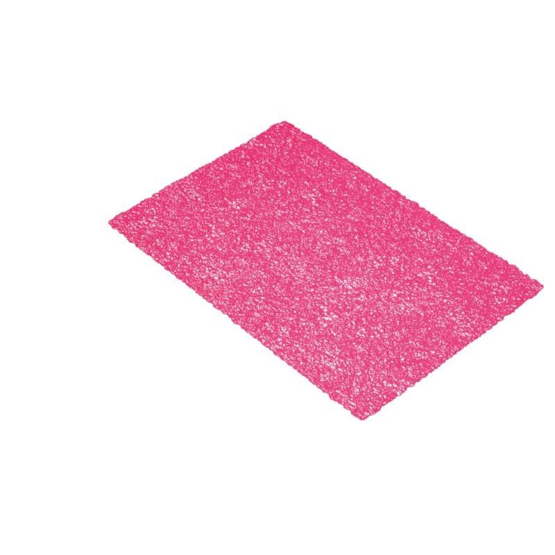 KitchenCraft Woven Placemat - Pink Texture