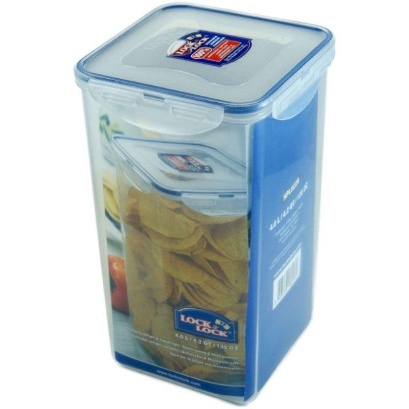 HPL822R Lock & Lock Rectangle Food Container - 4 Litre