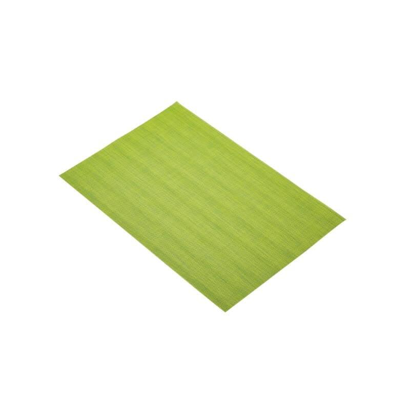 KitchenCraft Woven Placemat - Green Mix