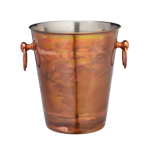 BCCHAMIRIDCOP Barcraft Iridescent Copper Champagne Ice Bucket