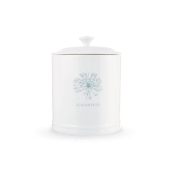 Mary Berry English Garden Sugar Canister - Agapanthus