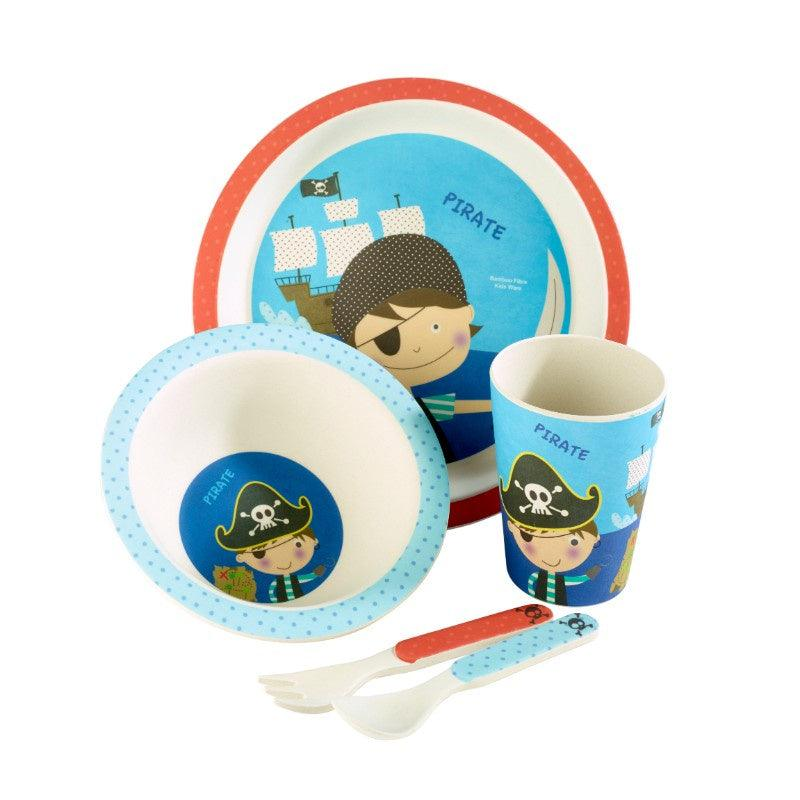 ZBAM0001 Arthur Price Bambino Pirate 5 Piece Childrens Dining Set - Main