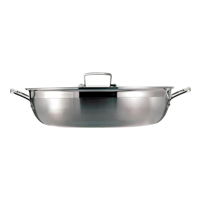Le Creuset 3 Ply Stainless Steel Shallow Casserole - 30cm