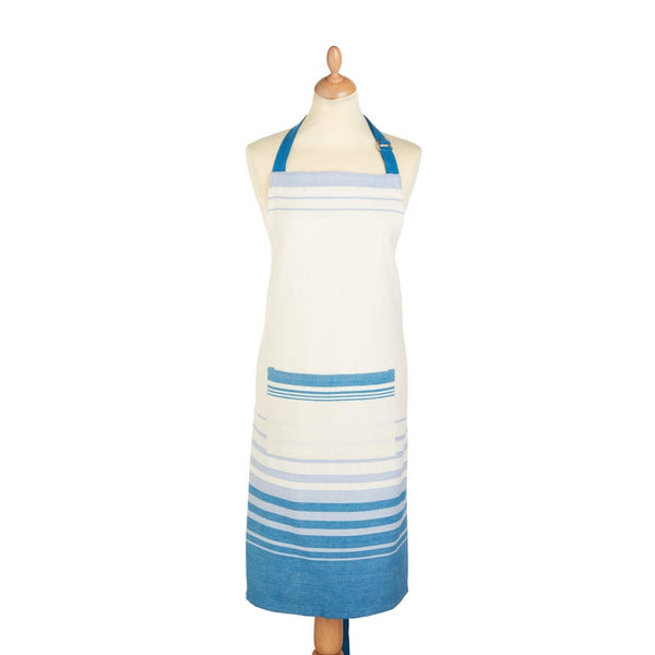 KitchenCraft Cotton Apron - Jacquard Stripe