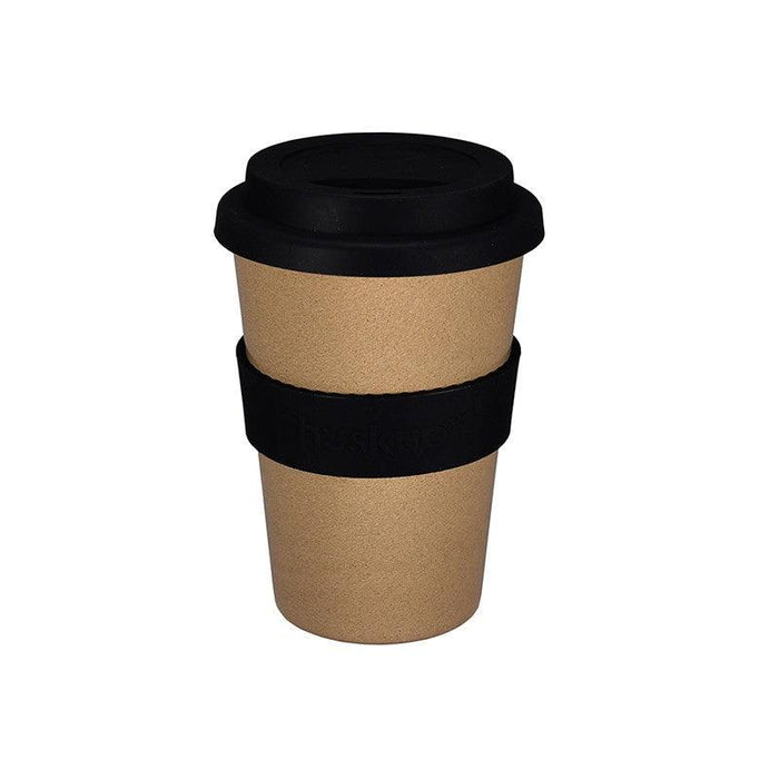 Huskup Simple 400ml Travel Mug - Black