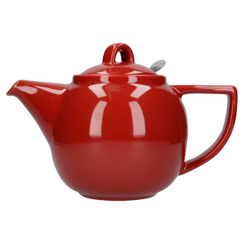 London Pottery Geo Filter 4 Cup Teapot - Red