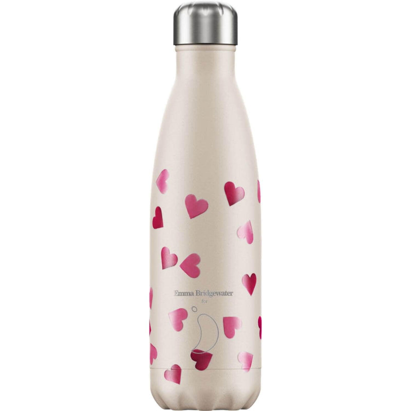 Chilly's 500ml Emma Bridgewater Drinks Bottle - Hearts