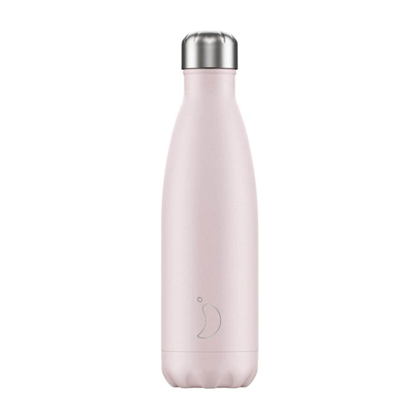 Chilly's 500ml Blush Drinks Bottle - Baby Pink