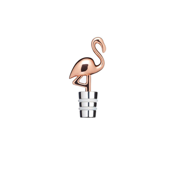 BarCraft Flamingo Bottle Stopper - Rose Gold
