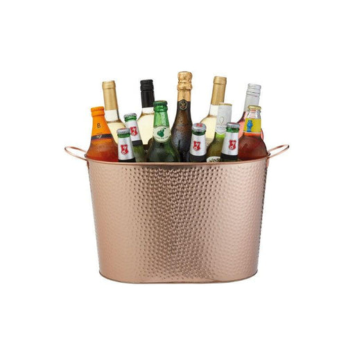 Barcraft Ice Bucket - Hammered Copper