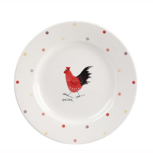 Alex Clark Rooster 20cm Salad Plate