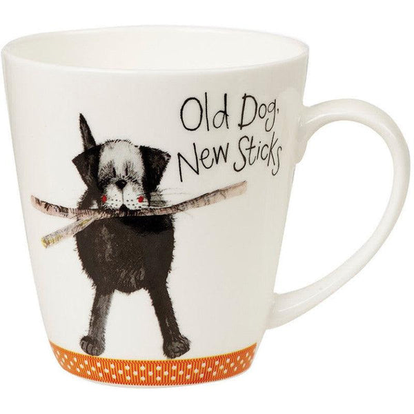 Alex Clark Sparkle Old Dog 360ml Mug