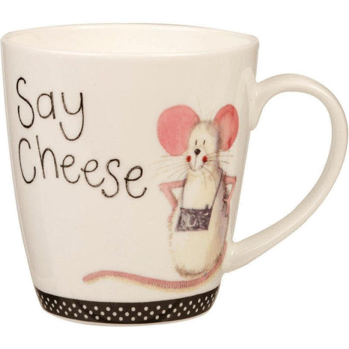 Alex Clark Sparkle Say Cheese 360ml Mug