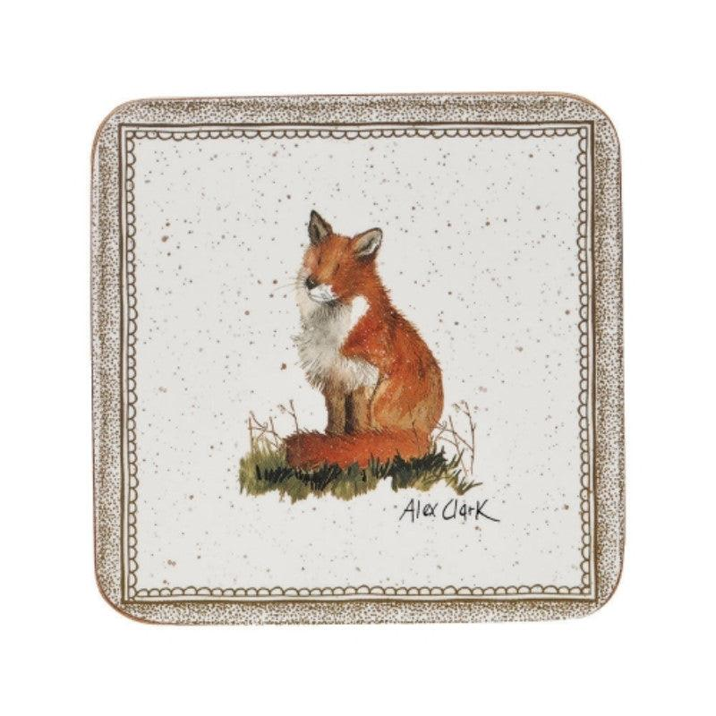 Alex Clark Wildlife Fox Coasters - Set of 6