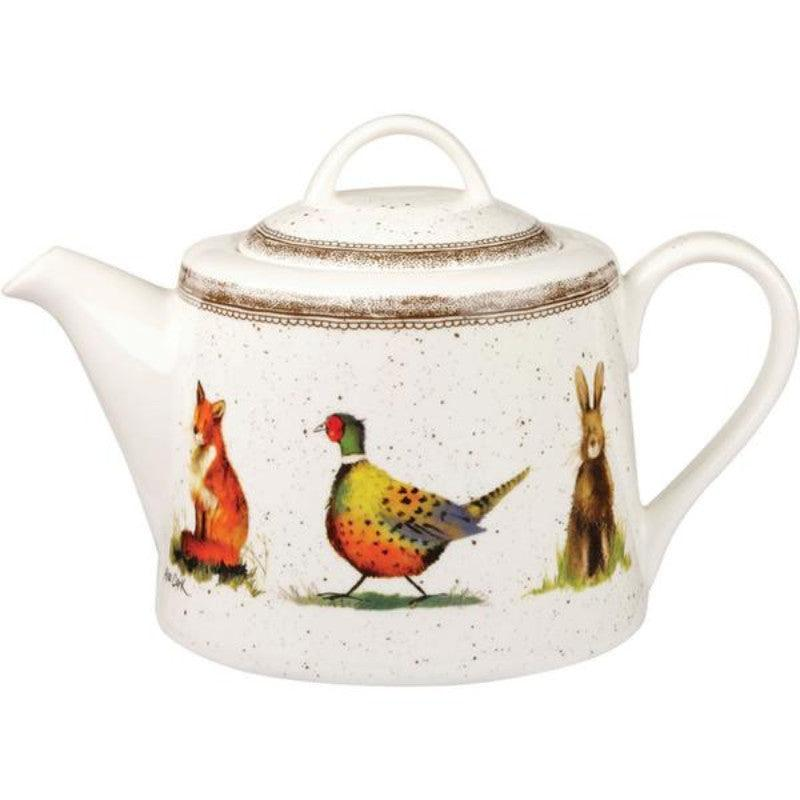 Alex Clark Wildlife 850ml Teapot