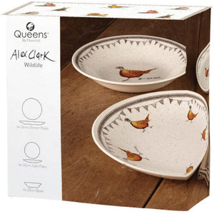 Alex Clark Wildlife 12 Piece Dinner Set