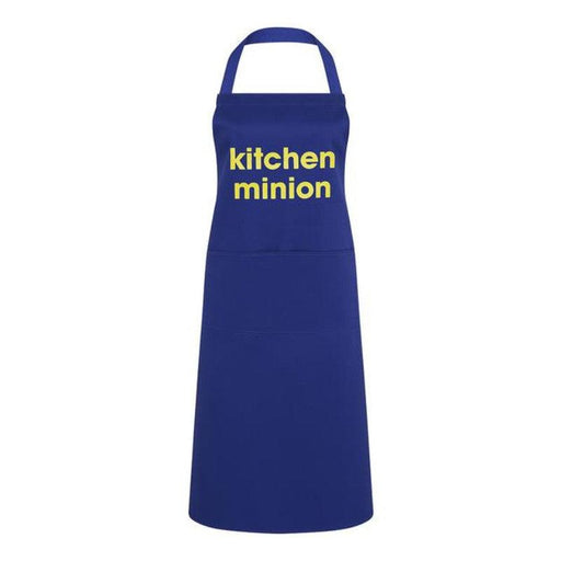 Artscape 'Kitchen Minion' Blue Cotton Apron