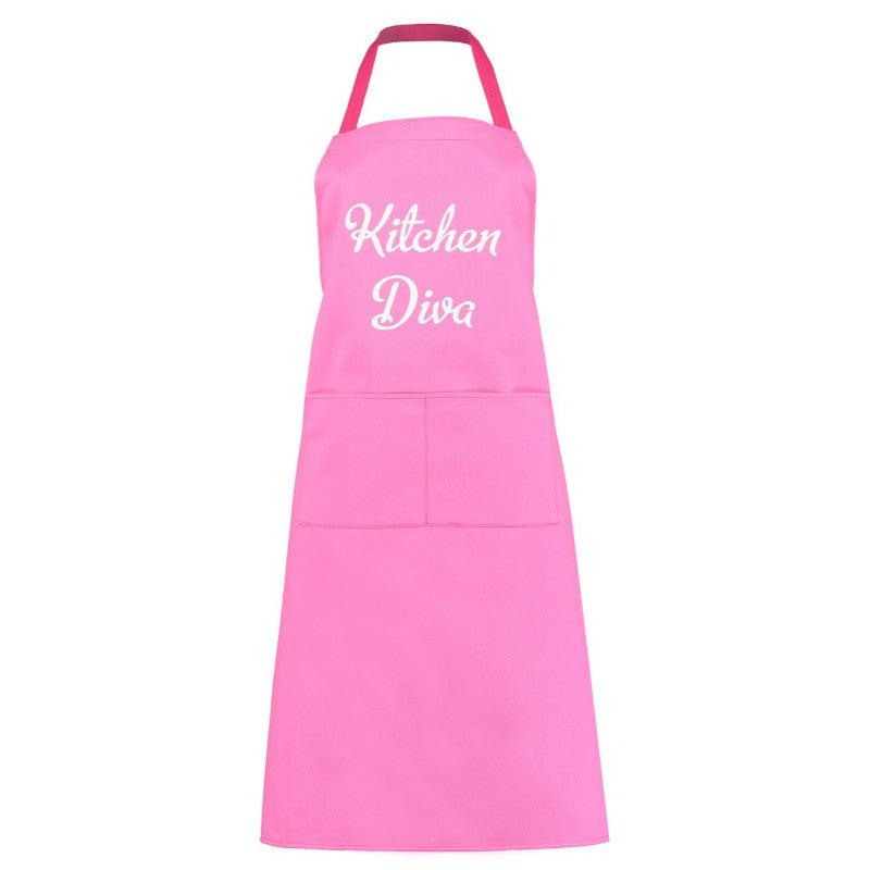 Artscape 'Kitchen Diva' Pink Cotton Apron