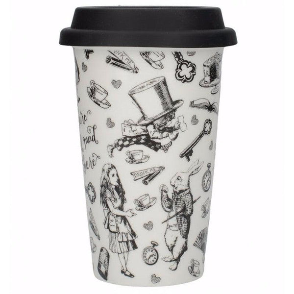 Alice in Wonderland Travel Mug - 350ml