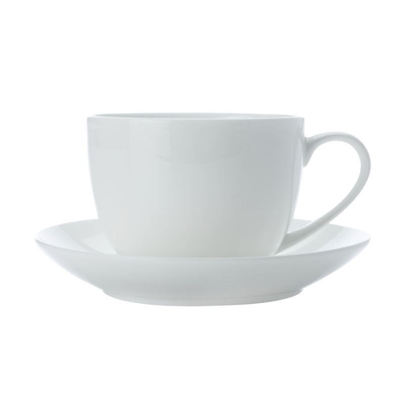 Maxwell & Williams Cashmere White Tea Cup & Saucer 230ml