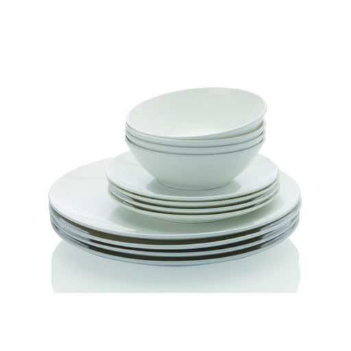 Maxwell & Williams Cashmere Coupe Dinner Set - 12 Piece