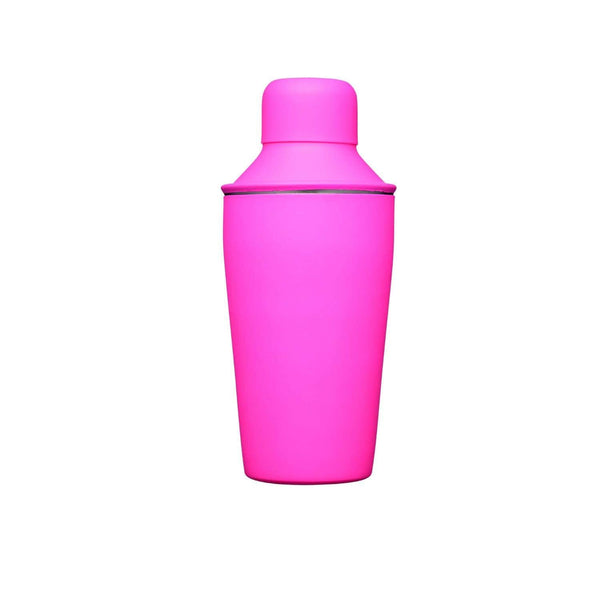 BarCraft Mini Neon Cocktail Shaker - Pink