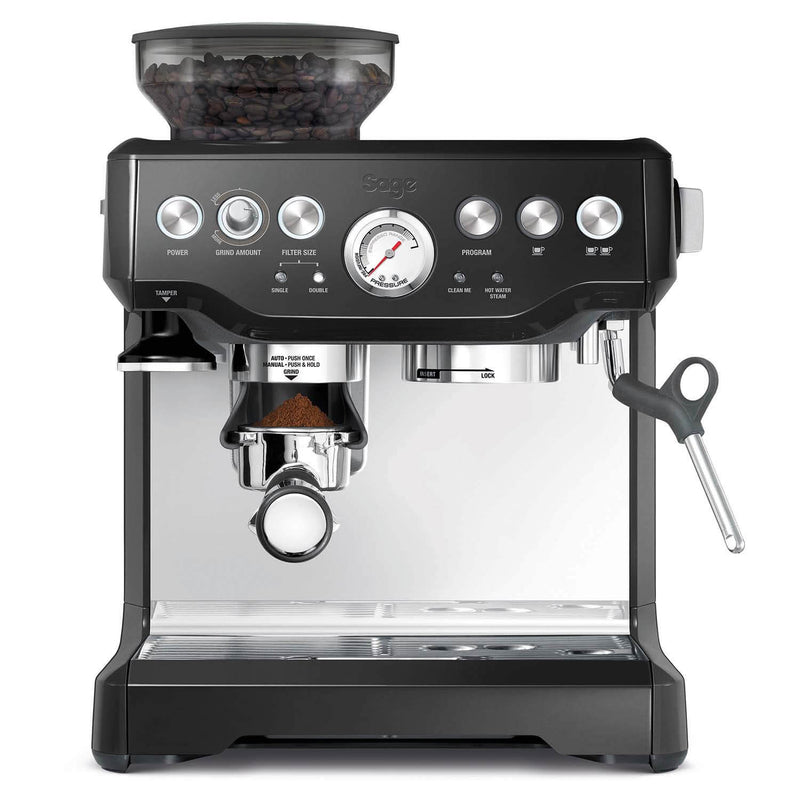BES875BKS Sage Barista Express Bean-to-Cup Coffee Machine