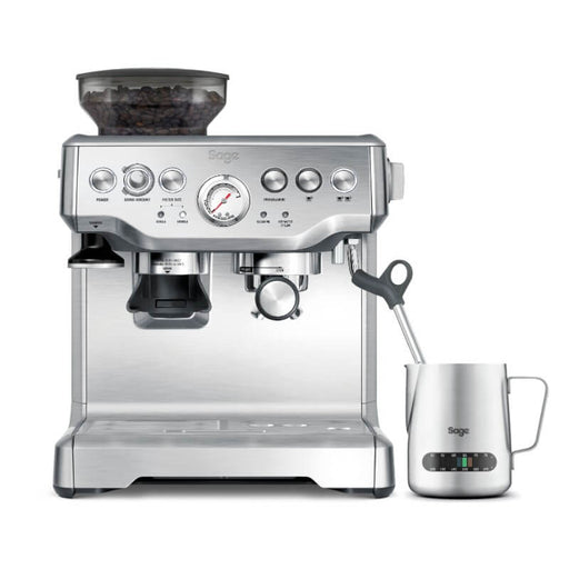 BES875UK Sage Barista Express Bean-to-Cup Coffee Machine With Sage Temp Control Jug