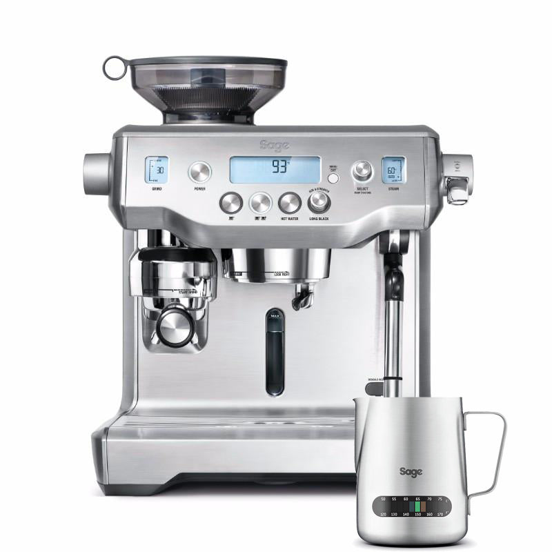 Sage Oracle By Heston Blumenthal Silver Coffee Machine