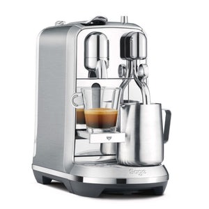 Nespresso Creatista Plus BNE800BSS Coffee Machine by Sage - Silver