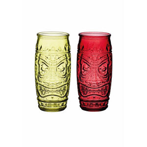 Barcraft 2 Piece Tiki Glass Set