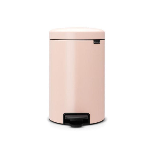 Brabantia NewIcon 12 Litre Clay Pink Pedal Bin