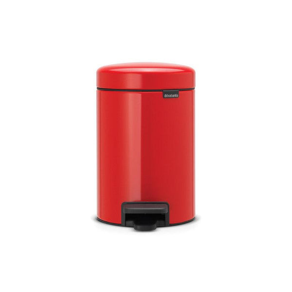 Brabantia NewIcon 3 Litre Pedal Bin - Passion Red