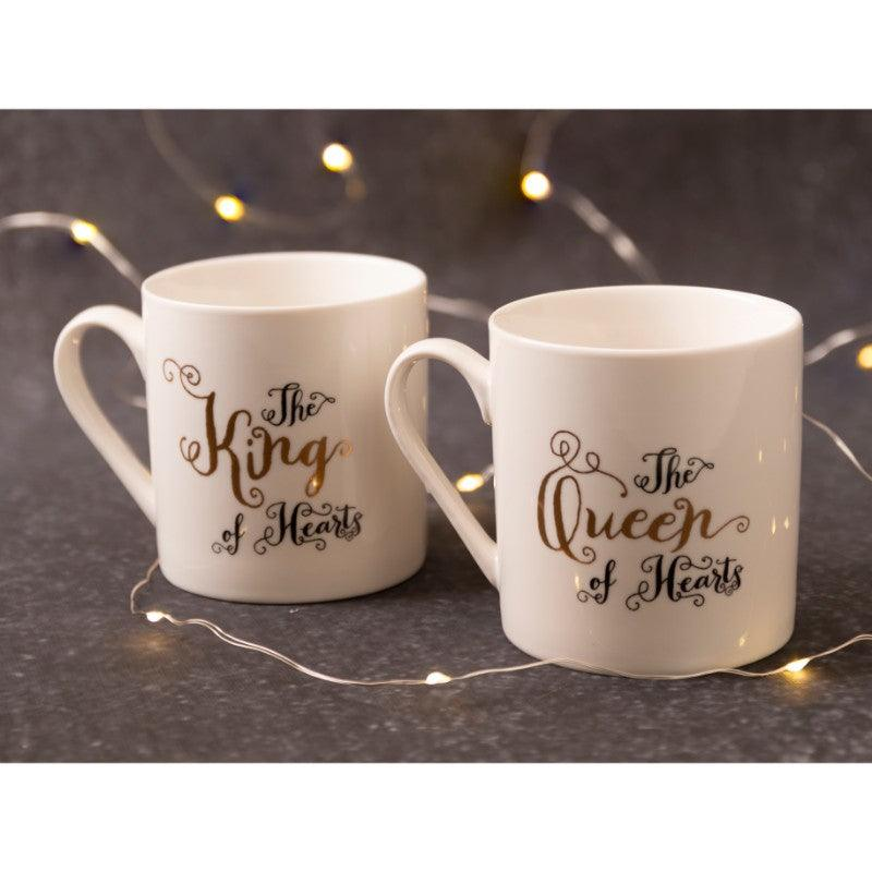 C000047 Victoria And Albert Alice in Wonderland His And Hers Mug Set - Lifestyle