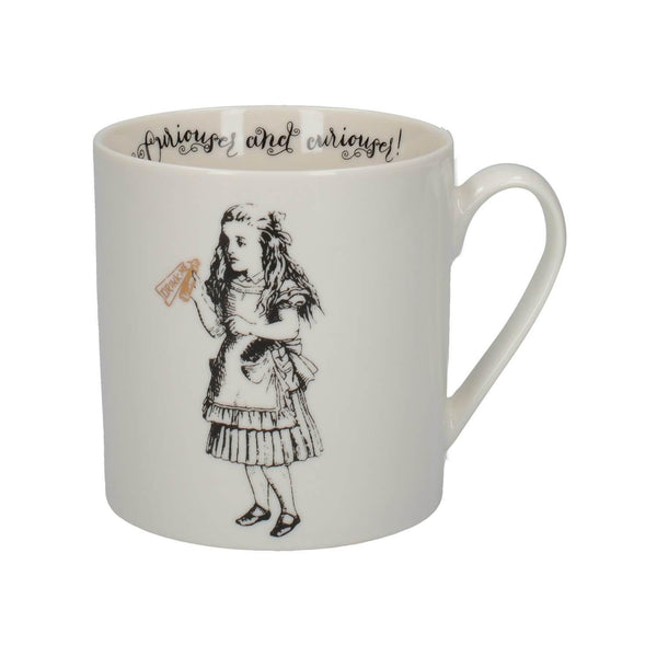 Alice In Wonderland 4-Piece Mug Set