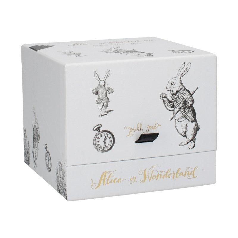 C000051 Victoria & Albert Alice in Wonderland White Rabbit Mug - Gift Boxed