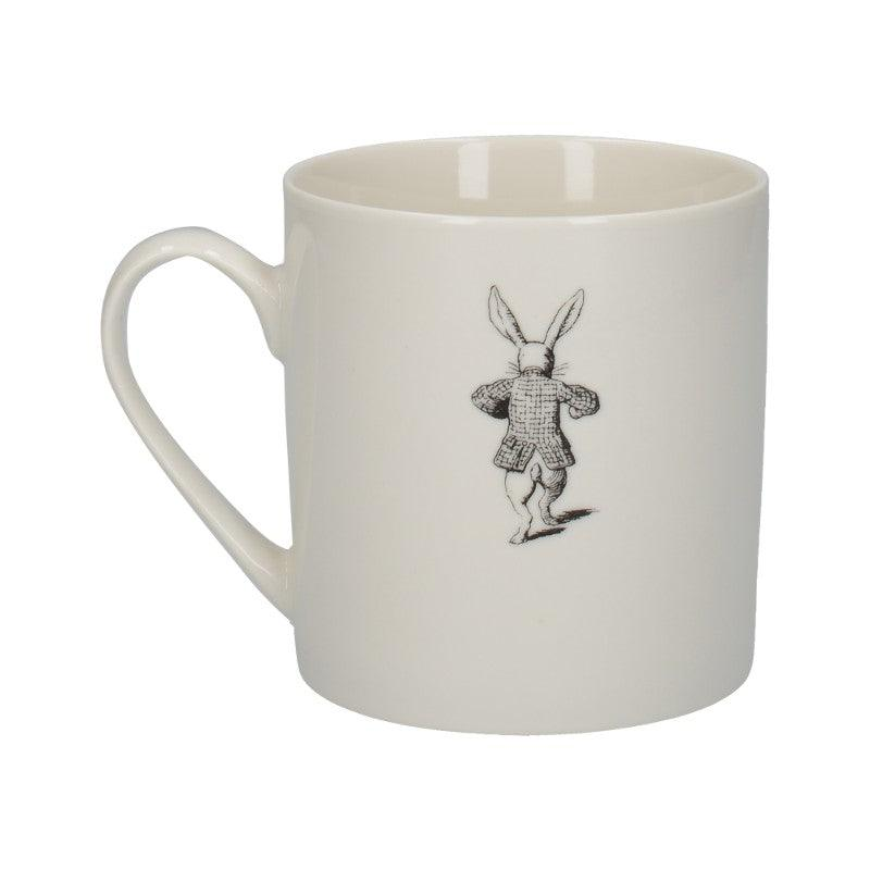 C000051 Victoria & Albert Alice in Wonderland White Rabbit Mug - Reverse Side Illustration