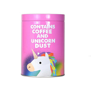 Jolly Awesome 'Coffee and Unicorn Dust' Coffee Canister