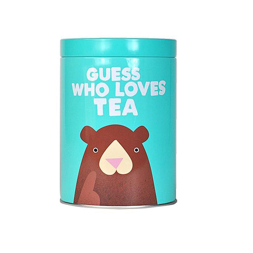 Jolly Awesome 'Guess Who Loves Tea' Tea Canister