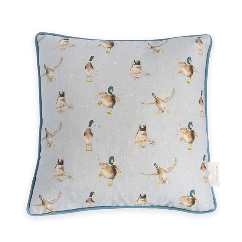 Wrendale Designs by Hannah Dale Cushion - A Waddle and a Quack
