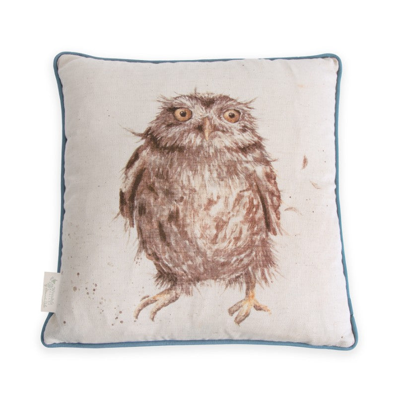 Wrendale Designs by Hannah Dale Cushion - What a Hoot