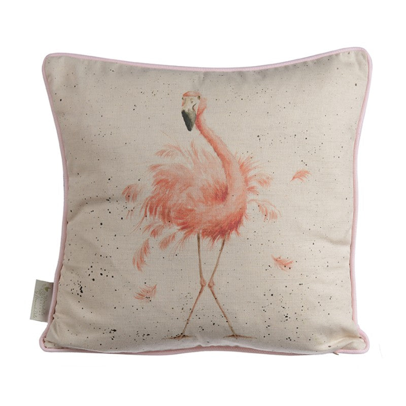 Wrendale Designs by Hannah Dale Cushion - Pink Lady