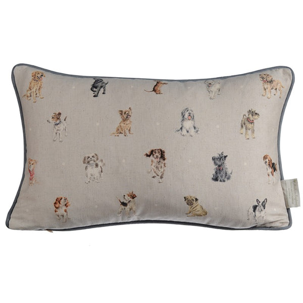Wrendale Designs Cushion - Hugo Dachshund