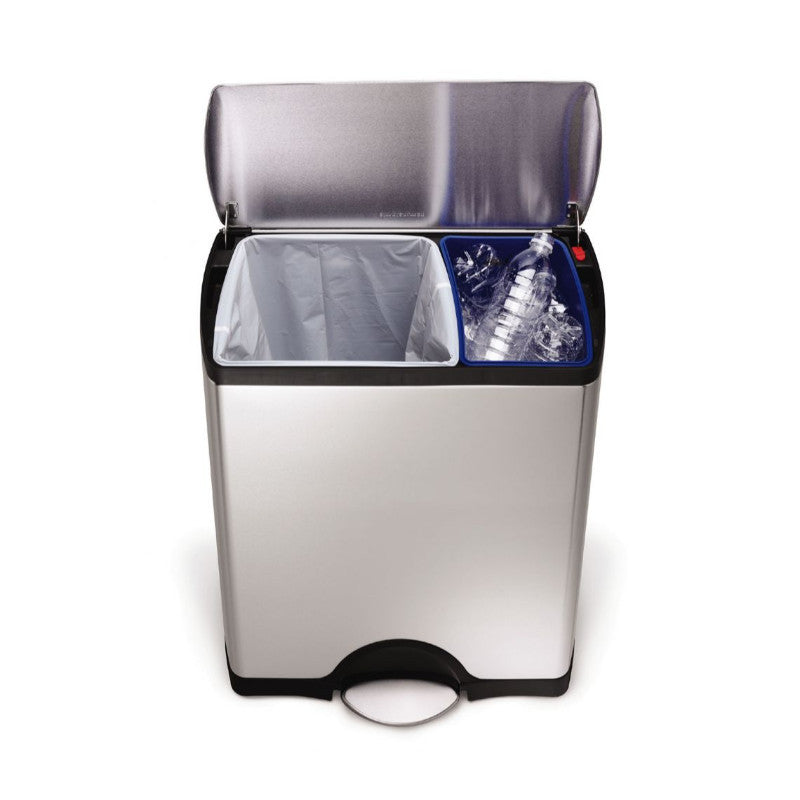 Simplehuman Fingerprint-Proof Bin - 46 Litre