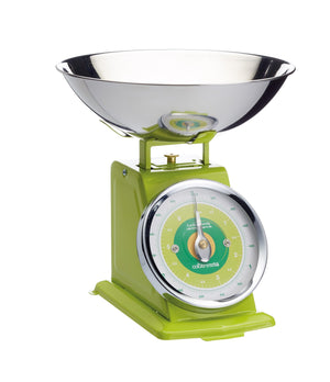 Colourworks 3kg Green Mechanical Scales