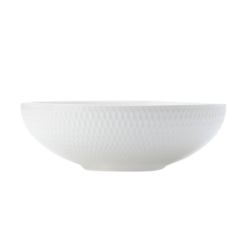 Maxwell & Williams White Basics Diamonds 18.5cm Coupe Bowl