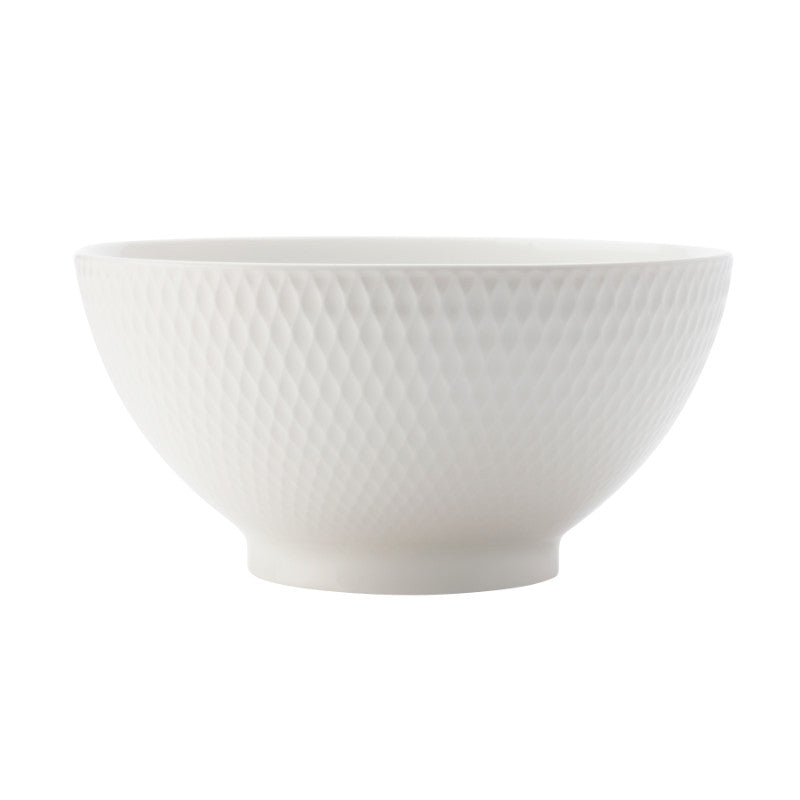 Maxwell & Williams White Basics Diamonds 20cm Noodle Bowl