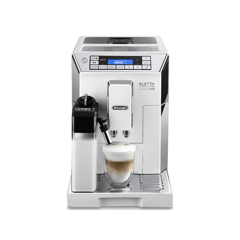 De'Longhi Eletta Bean-to-Cup Coffee Machine - White