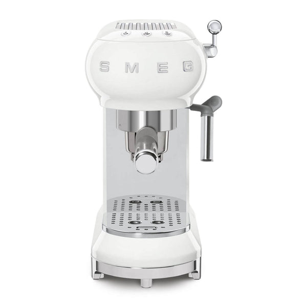 Smeg ECF01WH Espresso Coffee Machine - White